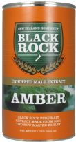 Black Rock Unhopped Amber Malt Extract LME 1.5 Kg